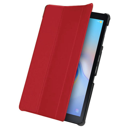 Trifold Sleep/Wake Smart Case for Samsung Galaxy Tab A 10.5 (2018) - Red